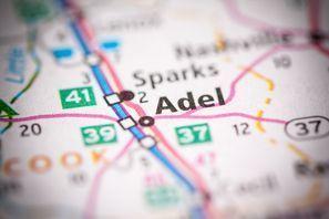 Autókölcsönzés Amerikai Egyesült Államok, Adel, GA