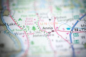 Autókölcsönzés Amerikai Egyesült Államok, Anna, IL