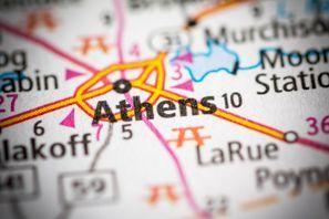 Autókölcsönzés Amerikai Egyesült Államok, Athens, TX