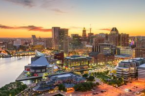 Autókölcsönzés Amerikai Egyesült Államok, Baltimore, MD