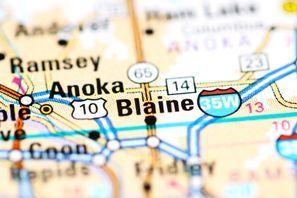 Autókölcsönzés Amerikai Egyesült Államok, Blaine, MN