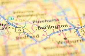 Autókölcsönzés Amerikai Egyesült Államok, Burlington, MA