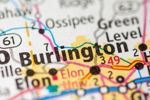 Autókölcsönzés Amerikai Egyesült Államok, Burlington, NC