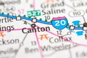 Autókölcsönzés Amerikai Egyesült Államok, Canton, TX