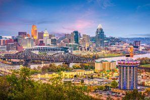 Autókölcsönzés Amerikai Egyesült Államok, Cincinnati, OH