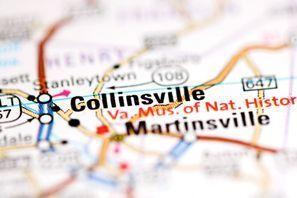 Autókölcsönzés Amerikai Egyesült Államok, Collinsville, VA
