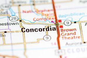 Autókölcsönzés Amerikai Egyesült Államok, Concordia, KS