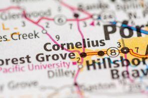 Autókölcsönzés Amerikai Egyesült Államok, Cornelius, OR