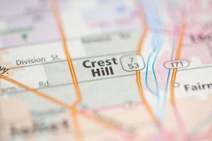 Autókölcsönzés Amerikai Egyesült Államok, Crest Hill, IL