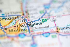 Autókölcsönzés Amerikai Egyesült Államok, East Moline, IL