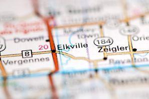 Autókölcsönzés Amerikai Egyesült Államok, Elkville, IL