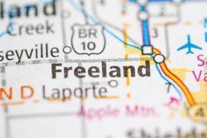Autókölcsönzés Amerikai Egyesült Államok, Freeland, MI