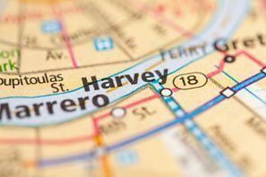 Autókölcsönzés Amerikai Egyesült Államok, Harvey, LA