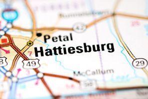 Autókölcsönzés Amerikai Egyesült Államok, Hattiesburg, MS