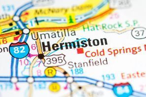 Autókölcsönzés Amerikai Egyesült Államok, Hermiston, OR