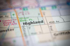 Autókölcsönzés Amerikai Egyesült Államok, Highland, IN