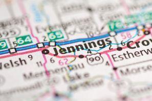Autókölcsönzés Amerikai Egyesült Államok, Jennings, LA