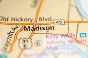 Autókölcsönzés Amerikai Egyesült Államok, Madison, WI