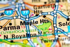 Autókölcsönzés Amerikai Egyesült Államok, Maple Heights, OH