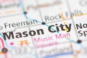 Autókölcsönzés Amerikai Egyesült Államok, Mason City, IA