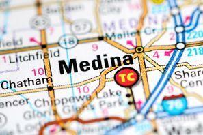 Autókölcsönzés Amerikai Egyesült Államok, Medina, OH