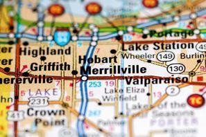 Autókölcsönzés Amerikai Egyesült Államok, Merrillville, IN