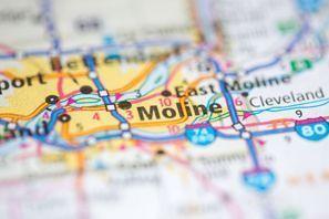 Autókölcsönzés Amerikai Egyesült Államok, Moline, IL