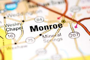 Autókölcsönzés Amerikai Egyesült Államok, Monroe, NC