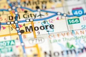 Autókölcsönzés Amerikai Egyesült Államok, Moore, OK