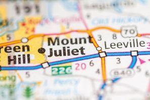 Autókölcsönzés Amerikai Egyesült Államok, Mount Juliet, TN