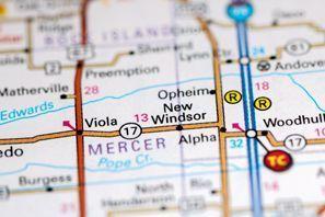 Autókölcsönzés Amerikai Egyesült Államok, New Windsor