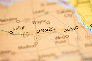 Autókölcsönzés Amerikai Egyesült Államok, Norfolk, NE