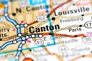Autókölcsönzés Amerikai Egyesült Államok, North Canton, OH