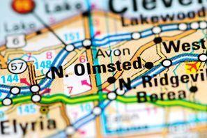 Autókölcsönzés Amerikai Egyesült Államok, North Olmsted, OH