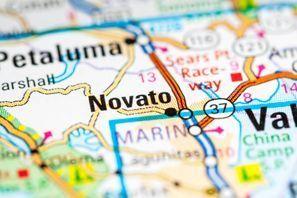 Autókölcsönzés Amerikai Egyesült Államok, Novato