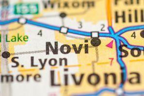 Autókölcsönzés Amerikai Egyesült Államok, Novi, MI
