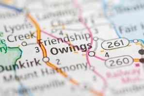 Autókölcsönzés Amerikai Egyesült Államok, Owings, MD
