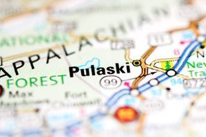 Autókölcsönzés Amerikai Egyesült Államok, Pulaski, VA