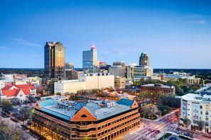 Autókölcsönzés Amerikai Egyesült Államok, Raleigh, NC