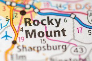 Autókölcsönzés Amerikai Egyesült Államok, Rocky Mount, NC