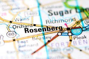 Autókölcsönzés Amerikai Egyesült Államok, Rosenberg, TX