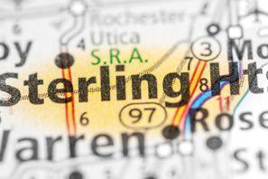 Autókölcsönzés Amerikai Egyesült Államok, Sterling Heights, MI