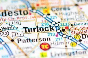 Autókölcsönzés Amerikai Egyesült Államok, Turlock