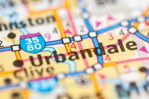 Autókölcsönzés Amerikai Egyesült Államok, Urbandale, IA