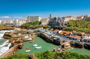 Autókölcsönzés Franciaország, Biarritzban