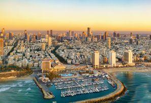 Autókölcsönzés Izrael, Tel Avivban