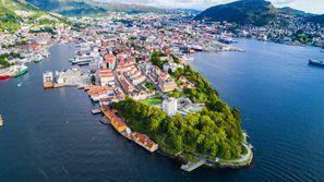 Autókölcsönzés Norvégia, Bergenben
