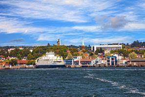Autókölcsönzés Norvégia, Mossban
