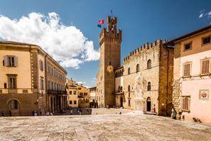 Autókölcsönzés Olaszország, Arezzoban