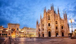 Autókölcsönzés Olaszország, Milánóban